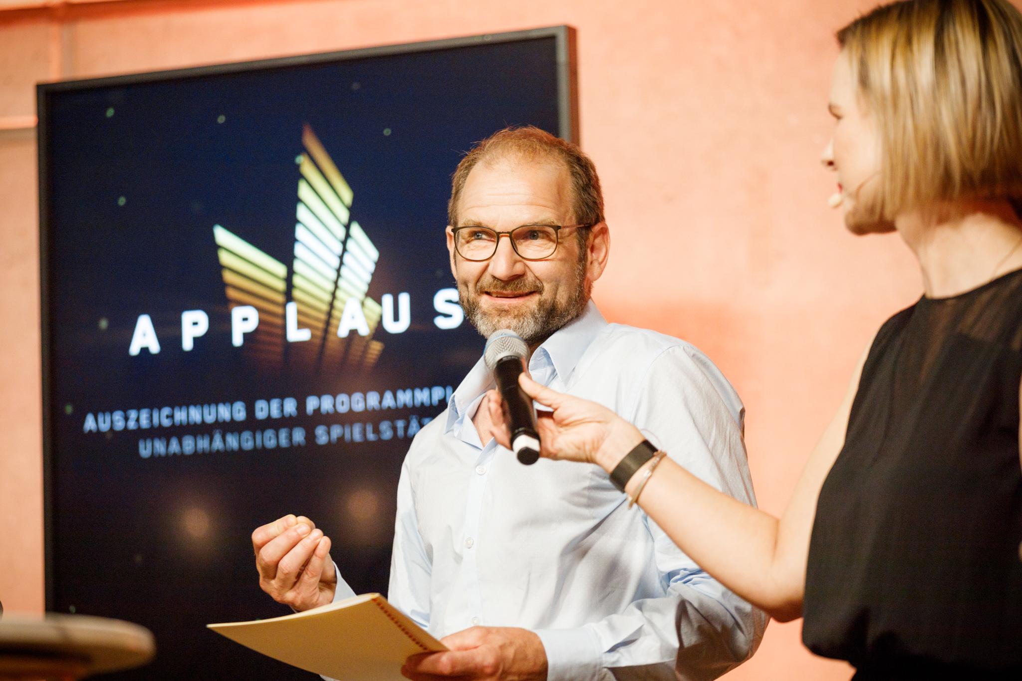 Applaus 2021, am 29. Juni 2021 im Berliner Säälchen, Foto: Stefan Wieland